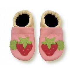Krabbelschuhe mit Erdbeere 3