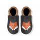 Krabbelschuhe mit Fuchs und Namen selber kombinieren