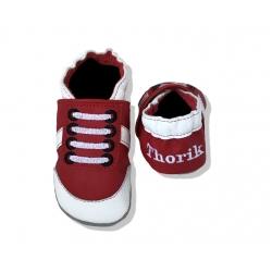Krabbelschuhe Sneaker 1 mit Namen