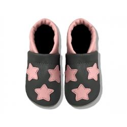 Krabbelschuhe mit Sterne 2